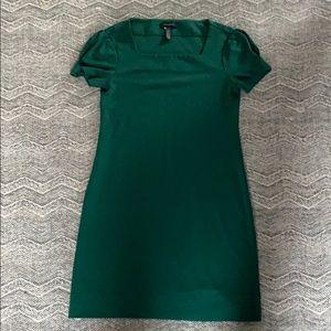 Banana Republic Emerald Dress